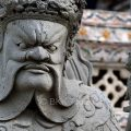 Chinese-style guardian at the Temple of Dawn