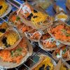 Thai crispy pancake, Khanom Buang, a delicious snack with a sweet or salty filling